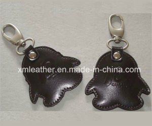 Leather Fashion Car Key Chain Keyring Holder for Promotion pictures & photos