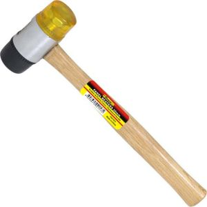 Panel Beaters 40mm Two-Way Mallet with Wooden Handle for Construction pictures & photos
