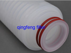 Nylon Micr Membrane Pleated Filter Cartridge Solution Filtration pictures & photos