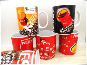 14 Oz Ceramic Nescafe Mugs pictures & photos