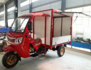 Gasoline Motored Tricycle Food Vend Carts pictures & photos