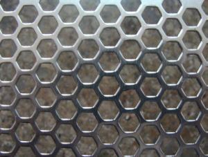 0315mm perforated stainless steel mesh