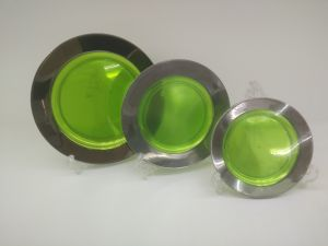 Plastic Plate, Disposable, Tableware, Tray, Dish, Colorful, PS, SGS, Silver Rim Plate, PA-01 pictures & photos