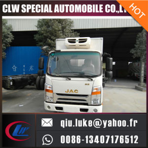 3tons JAC Refrigerated Van Truck, Fresh Meat Refrigerated Truck, Refrigerated Truck in Dubai pictures & photos