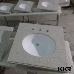 Custom Quartz Stone Vanity Top, Kitchen Top, Marble Vanity Top pictures & photos