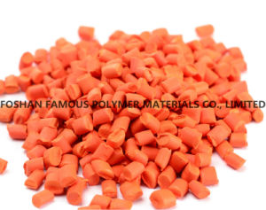 Orange Masterbatch with ABS Pet PP PE Pellets Plastic Masterbatch High Quality pictures & photos