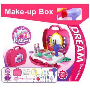 14358228-Bowa 21 PCS Pretend Gift Makeup Carry Case Children′s Princess Fashion Toy for Kids pictures & photos