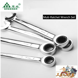 19 mm Double Ratchet Wrench pictures & photos