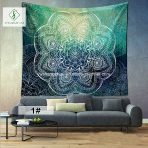 2017 Fashion Tapestry Tapestry with Digital Printed Retro Background Wall pictures & photos