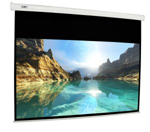 Motorized Tab-Tensioned Projection Screen / Projector Screen pictures & photos