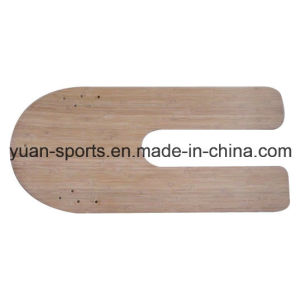 High Quality Bamboo Made Snow Board Sledge pictures & photos