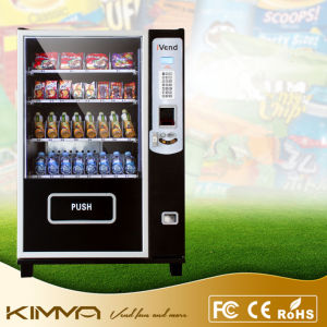 Mini Vending Machine for Small Location Operated by Bill Notes pictures & photos