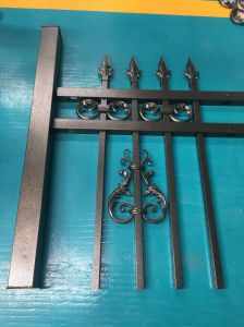 Bronze Powder Coated Galvanized Steel Fencing for Balcony and Garden pictures & photos