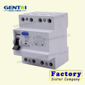 1p+N Earth Leakage /Residual Current Circuit Breaker / RCBO/ELCB/RCCB pictures & photos
