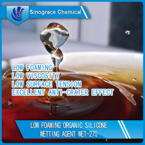 Low Foaming Organic Silicone Wetting Agent (WET-270) pictures & photos