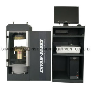 Computerized Electro-Hydarulic Servo Compression Testing Machine (CXYAW-3000S) pictures & photos
