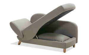 Chaise Lounge Sofa Bed With Big Storage