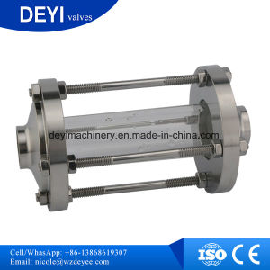 Dn40 AISI304 Sanitary Weld Sight Glass with Protective Cap pictures & photos