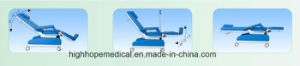 Model Py-Yd-CS1 Medical Manual Recliner Chair pictures & photos