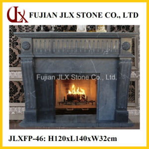 Black Marble Fireplace pictures & photos