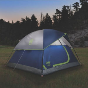 Hiking Tent 3 Person Tent (Green and Navy color options) pictures & photos