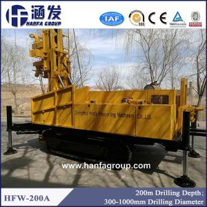 Hfw-200A All Formation Water Well Drilling Rig 200m pictures & photos