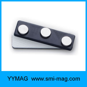 Standard Neodymium Magnetic Name Tag Magnets Magnet Badge pictures & photos
