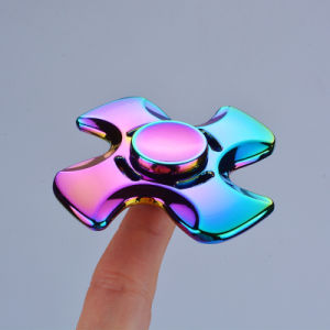 Three Leaf Dart Rainbow Color Alloys EDC Hand Fidget Spinner pictures & photos