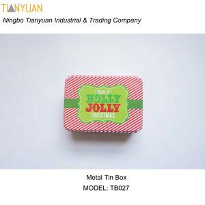 Design Customized Square Metal Gift Box Decorative Cake Tin Boxes Wholesale