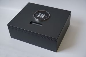 Top Open Drawer Safe Box with Electronic Lock pictures & photos