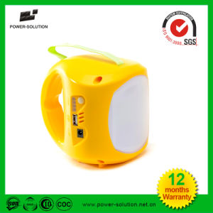 Portable Solar Lantern with Hanging Bulb and Mobile Phone Charger pictures & photos