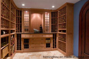 Customize Luxurious Antique Wine Cellar for Solid Wood Furniture pictures & photos