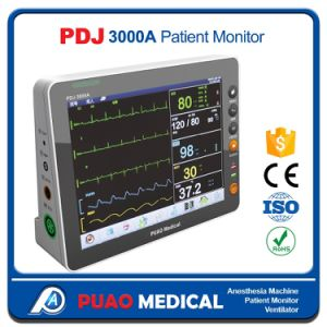 Pdj-3000A Factory Price Multi-Parameter ICU Portable Patient Monitor pictures & photos