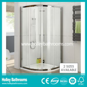 Sector Shower Sliding Door with Aluminium Alloy Frame (SE914C) pictures & photos