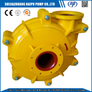 150 Zjr (8X6) Horizontal Rubber Lined Slurry Pumps pictures & photos
