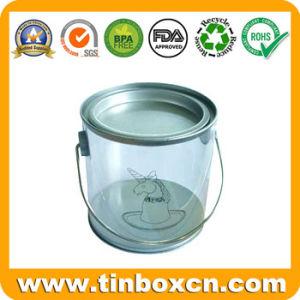 PVC Tin Box, Transparent Tin Can with Trasparent Body pictures & photos