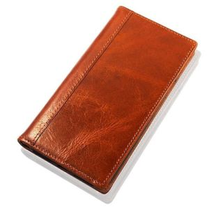 Handmade Built-in Stand Card Slots Holder Full Grain Leather Flip Wallet Skin Case for Samsung S8 pictures & photos