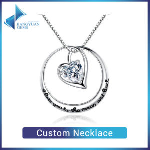 Custom 925 Sterling Silver Jewellery Custom Necklace pictures & photos