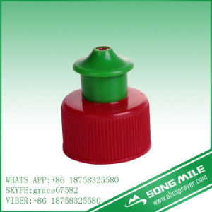 28/410 Screw Pull Push Cap for Bottle pictures & photos