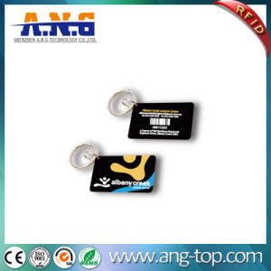 RFID Crystal Epoxy Jelly PVC Card with DESFire EV1 pictures & photos