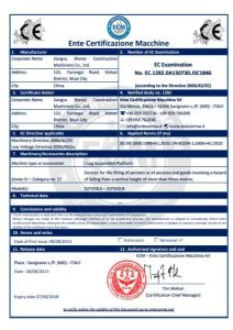 L Leg Suspended Platform with CE Certification pictures & photos
