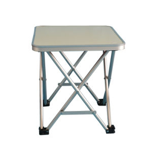 Quality Light Camping Folding Potable Mini Table (M) with Top Board pictures & photos