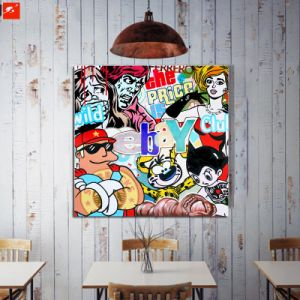 Decoration Oil Painting of American Comic Cartoon Painting pictures & photos