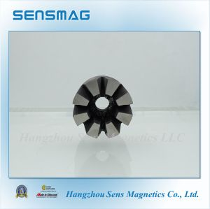 Customized Manufactured Permanent AlNiCo5 Horseshoe Magnet with 8 Poles pictures & photos