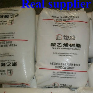 Sinopec Film Gade Plastic PE Granules PP HDPE LDPE Virgin Resin pictures & photos