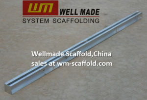 Concrete Shutter Forming Form Work Steel Double Waler pictures & photos