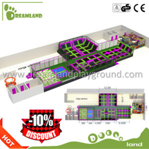 New Soft Indoor Trampoline, Indoor Amusement Trampoline Park pictures & photos