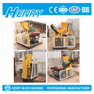 Cheap Price Clay Soil Interlocking Brick Making Machine pictures & photos