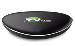 Wholesale Amlogic S905X Quad Core 4K Bluetooth Kodi17.3 Loaded Google Play Store Android TV Box pictures & photos