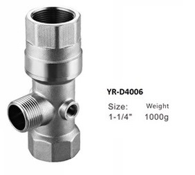 Five Way Connection/5 Way Check Valve in Brass, Nickel Plated pictures & photos